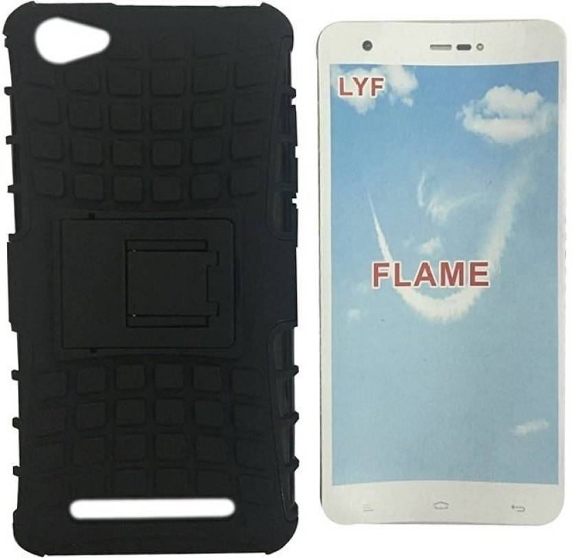 wholesale dealer 543a0 7f3dc OWLAM Back Cover for LYF FLAME 8