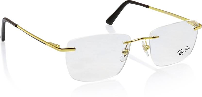 24863a875b Ray-Ban Rimless Square Frame Price in India - Buy Ray-Ban Rimless ...