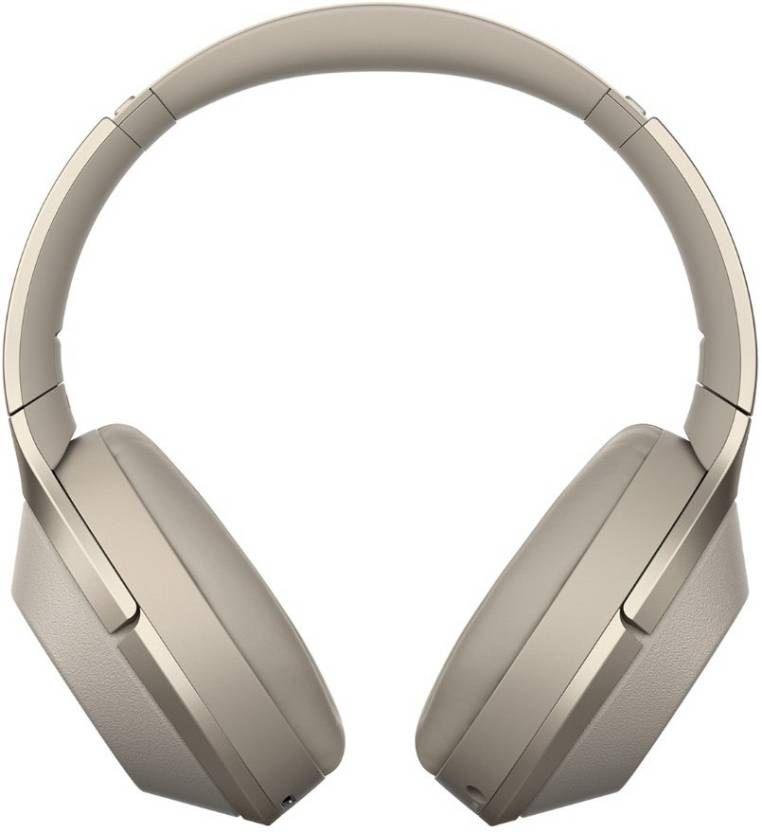Sony WH 1000XM2 Bluetooth ANC Headset with Mic   Touch Sensor Champagne Gold, On the Ear