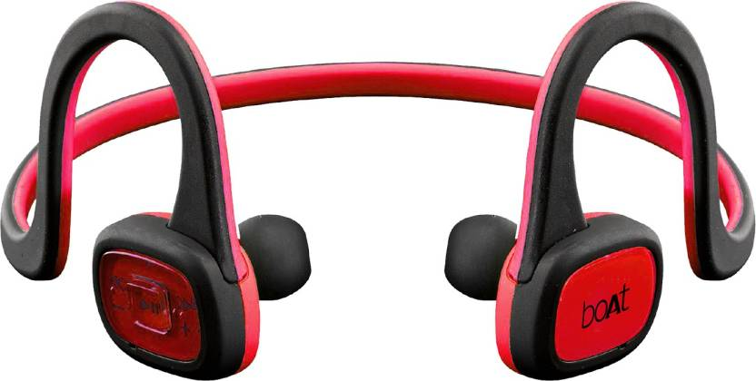 642af65523b boAt Rockerz 245 In-Ear Sports Bluetooth Earphone (Raging Red)) Bluetooth  Headset with Mic (Raging Red, In the Ear)