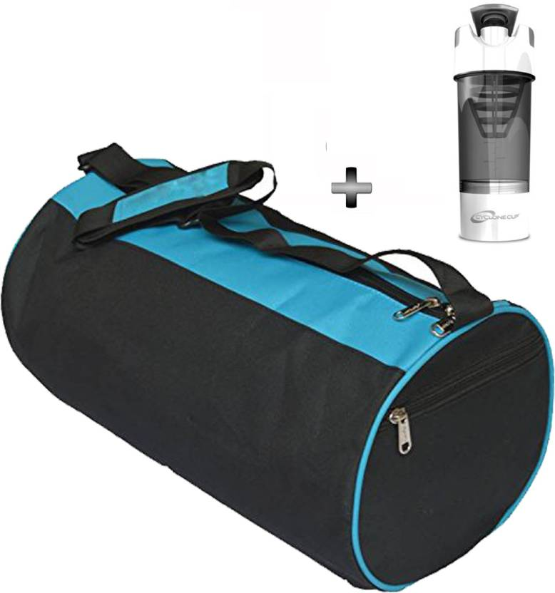 0d16dbdcff3d 5 O Clock Sports Gym Bag and White Cyclone Shaker Bottle Combo Pack For Men