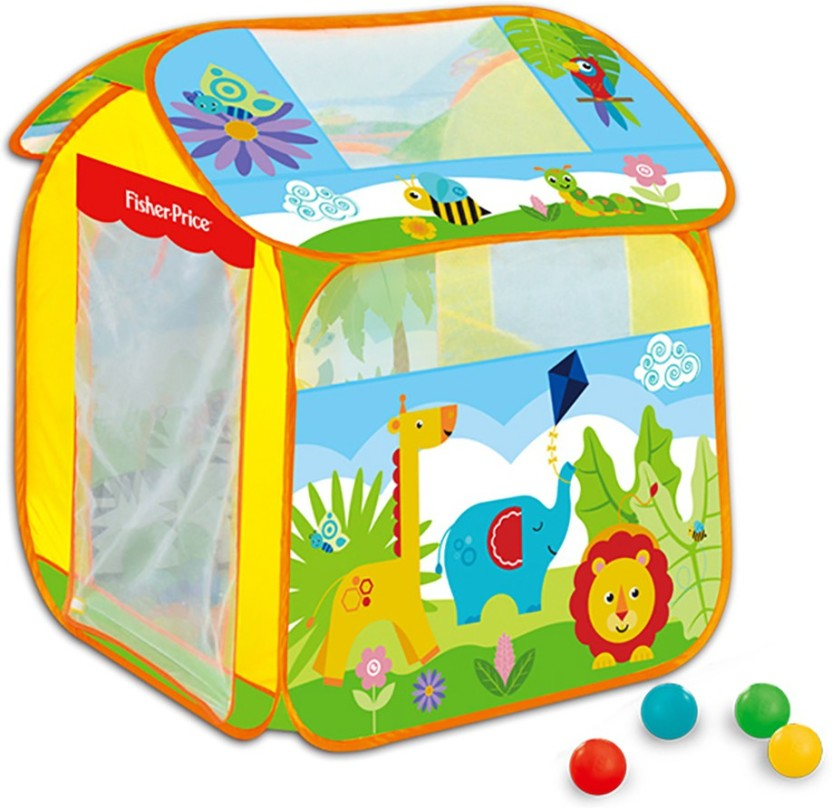 Kiditos Forest Dream Tent House Portable Indoor Outdoor Non-toxic Contains 50 Marine Toy Balls (Multicolor)  sc 1 st  Flipkart & Kiditos Forest Dream Tent House Portable Indoor Outdoor Non-toxic ...