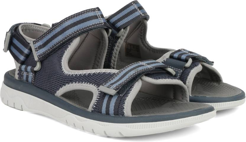 120c32b410ce Clarks Men Navy Sandals - Buy Blue Color Clarks Men Navy Sandals Online at  Best Price - Shop Online for Footwears in India