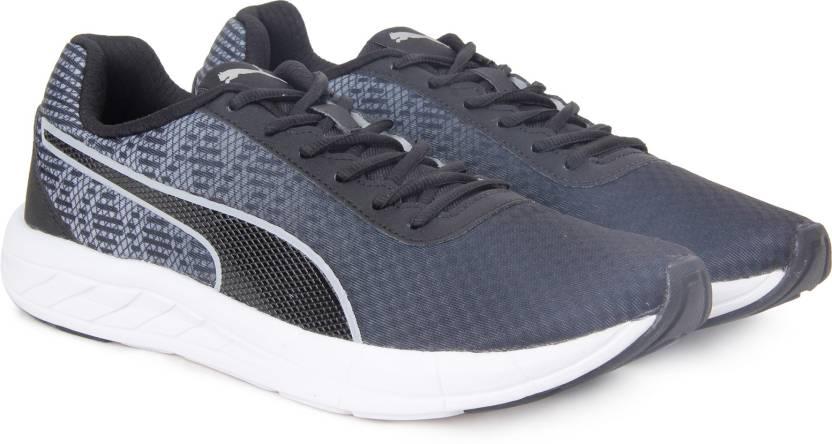 a3921160cacfe5 Puma Meteor 2 Running Shoes For Men - Buy Puma BlackPuma Silver ...