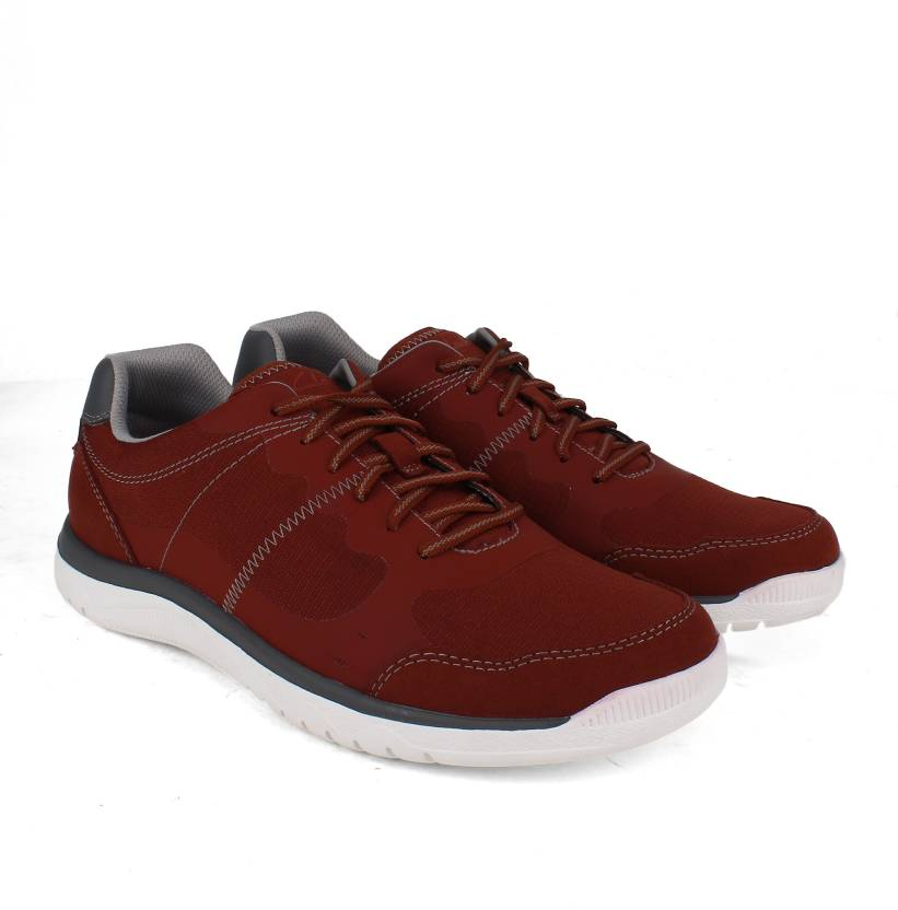 48cb8ce559f Clarks Votta Edge Red Synthetic Outdoors,sneakers For Men - Buy Red ...