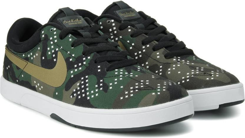 timeless design 5109c 1ea55 Nike ZOOM ERIC KOSTON Sneakers For Men (Green)