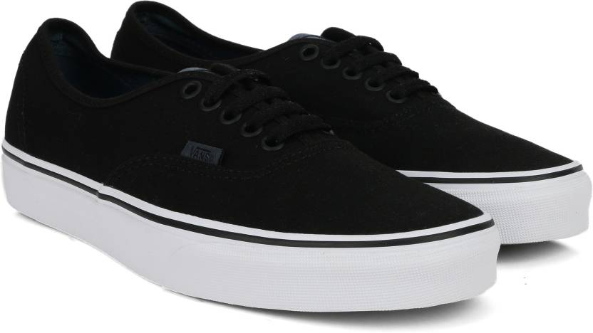 114e074304496b Vans Canvas Shoes For Men - Buy (CANVAS) BLACK/DARK SLATE Color Vans ...