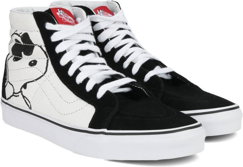 383fb261ebb Vans SK8-Hi Reissue Sneakers For Men - Buy white Color Vans SK8-Hi ...