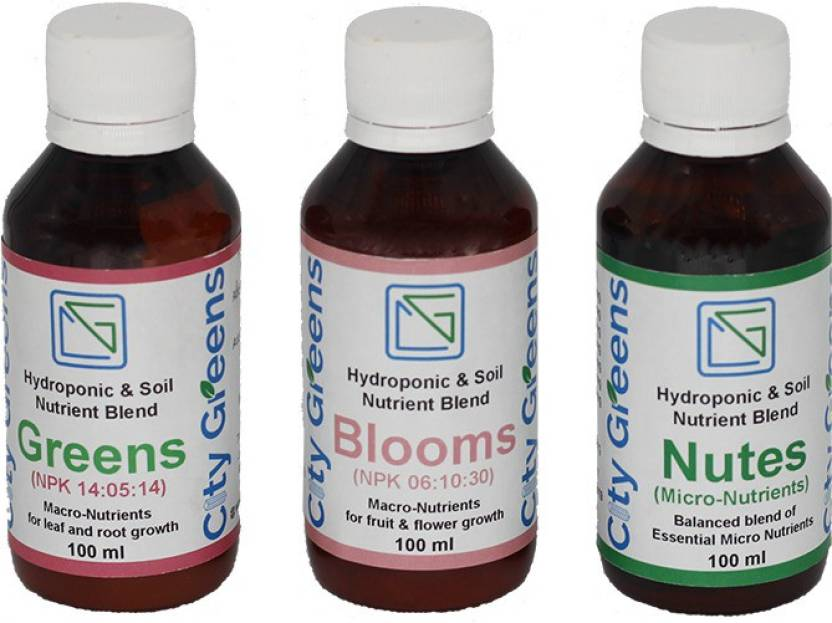 CityGreens Hydroponic & Soil Nutrient Blend Symphony Soil Manure