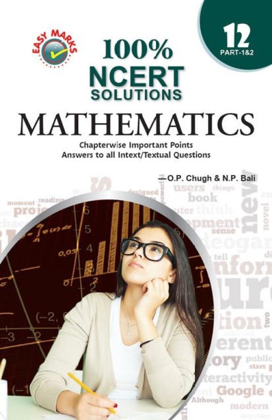 Ncert Maths Book Class 12 Part 2 Solutions