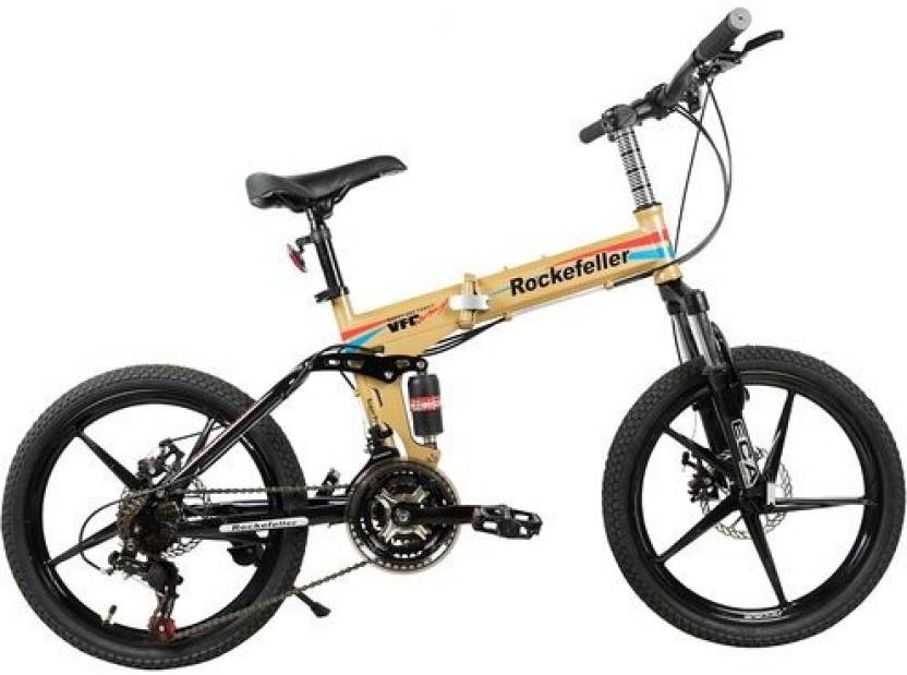 GOGO A1.COM Rockefeller City Bicycle With Folding High Carbon Steel ...
