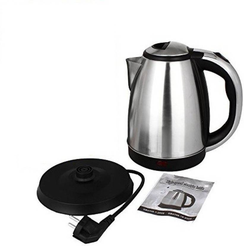 4da5d98c031 Bluebells India ™Stainless Steel Quick Heating Tea - Water Boiler Heater  Pot Electric Kettle (1.8 L