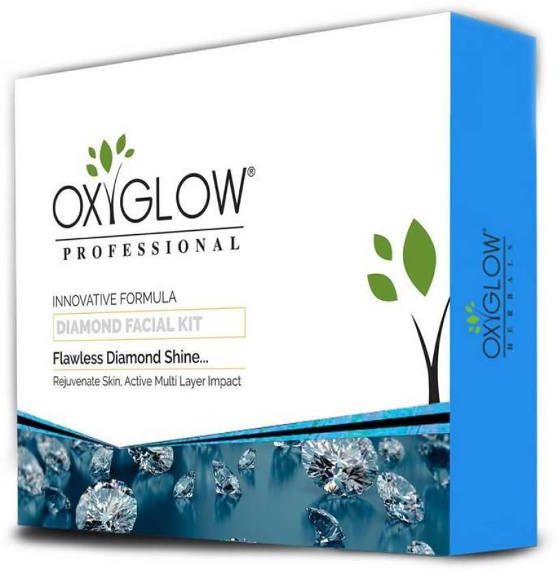 OxyGlow Cosmetics DIAMOND FACIAL KIT 165gm 165 g - Price in