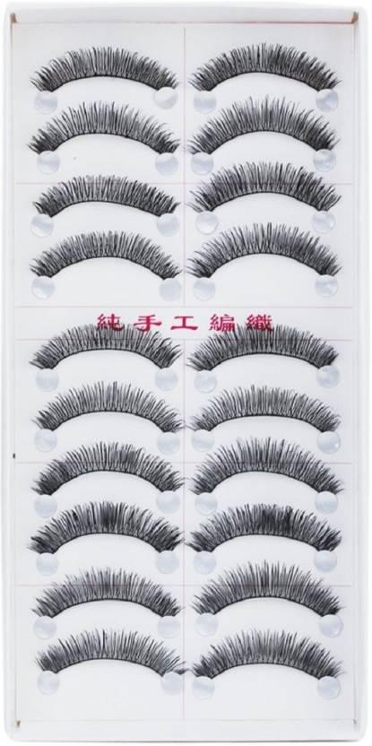 Beauty Wand 10 Pair False Eyelashes Price In India Buy Beauty