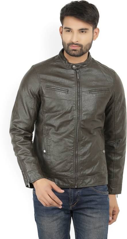 fc23e845f10 LP Jeans by Louis Philippe Full Sleeve Solid Men Jacket - Buy Brown LP  Jeans by Louis Philippe Full Sleeve Solid Men Jacket Online at Best Prices  in India ...