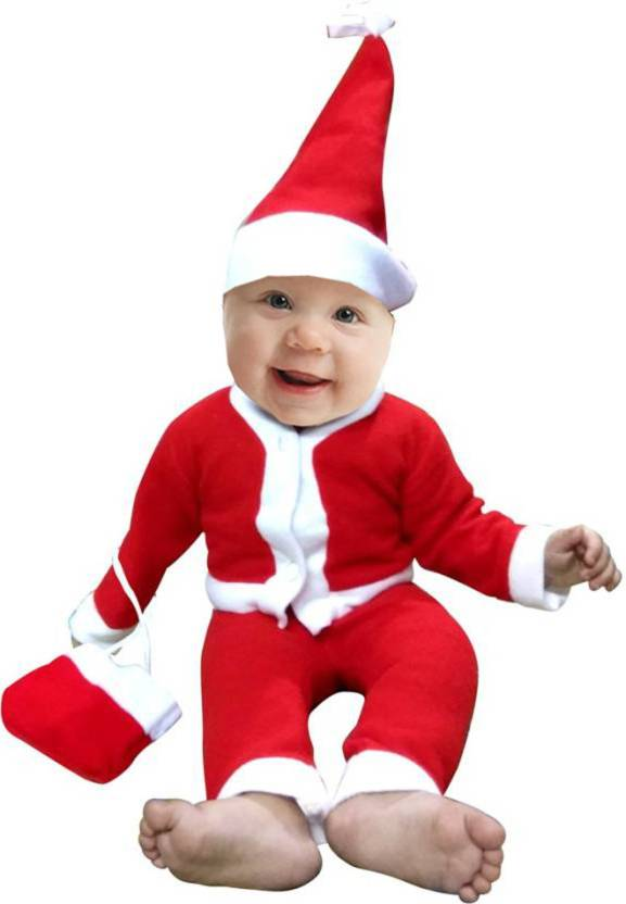 4002af2dc CREZON Christmas Santa Claus Dress for Boys (Age 0-8 Months) Xmass Kids Costume  Wear Price in India - Buy CREZON Christmas Santa Claus Dress for Boys (Age  ...