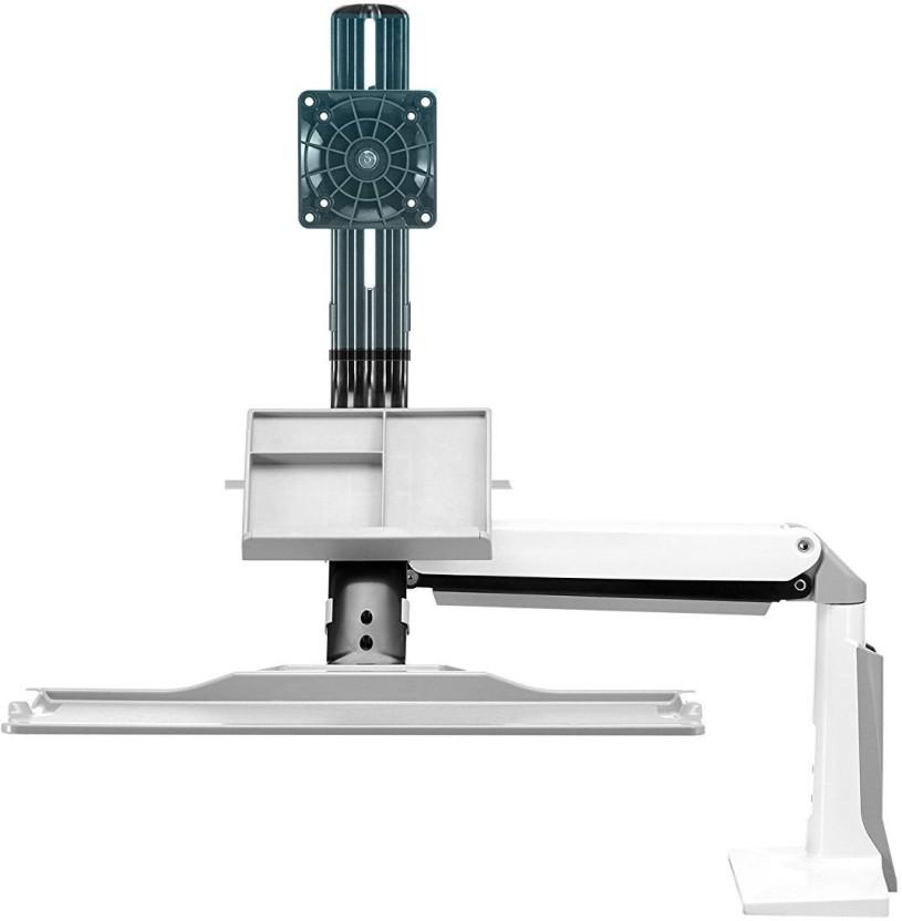 Rife Sit Stand Desk Height Adjustable Standing Desk Workstation For 22u0027u0027 35u0027