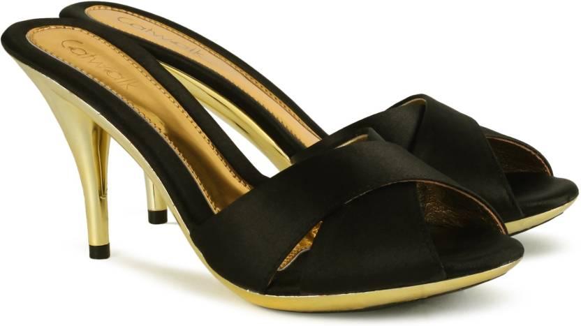 3c48b9830 Catwalk Women BLACK Heels - Buy BLACK Color Catwalk Women BLACK Heels  Online at Best Price - Shop Online for Footwears in India