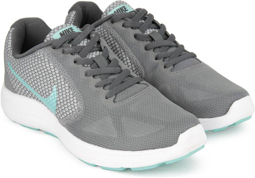 9ed566415fb4 Nike WMNS NIKE REVOLUTION 3 Running Shoes For Women - Buy COOL GREY ...