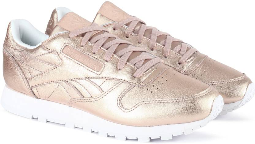 3c007d195f4 REEBOK CL LTHR MELTED METAL Running Shoes For Women - Buy PEARL MET ...