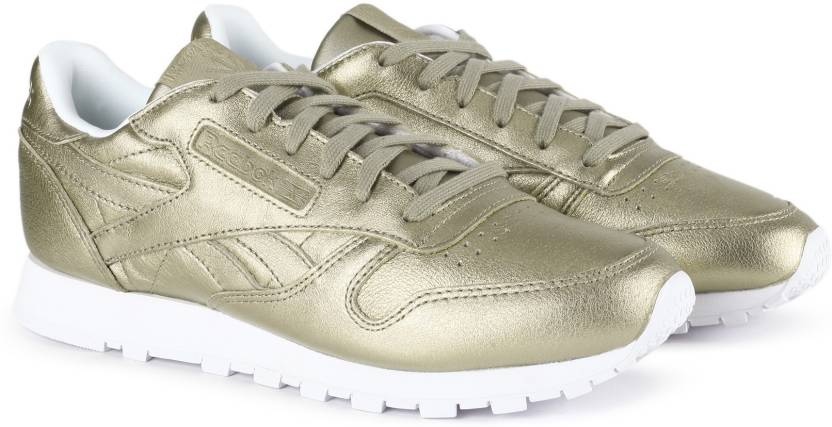 d5a8bc5b806a0 REEBOK CL LTHR MELTED METAL Running Shoes For Women - Buy PEARL MET ...