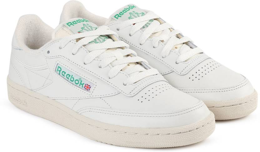 eee62be3c5466 REEBOK CLUB C 85 VINTAGE Tennis Shoes For Women - Buy CHALK GREEN ...