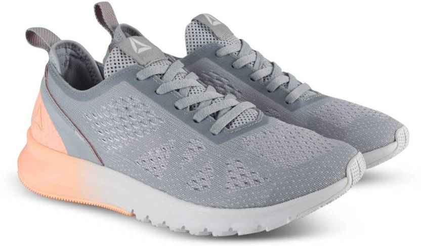 3337c07831dc REEBOK PRINT SMOOTH CLIP ULTK Running Shoes For Women - Buy GREY ...