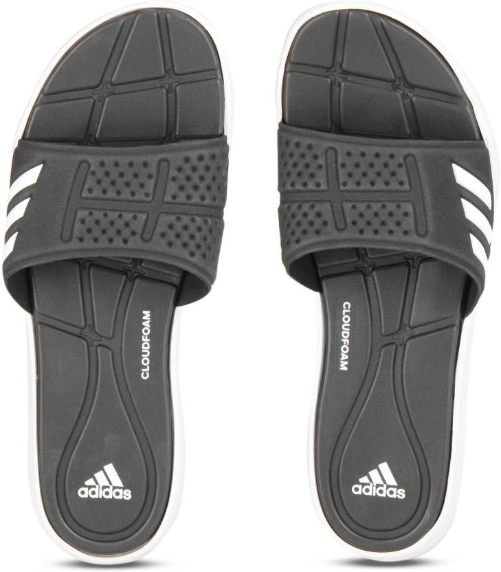 8c0292cfacf0d ADIDAS ADIPURE CF Slippers - Buy CBLACK FTWWHT CBLACK Color ADIDAS ADIPURE  CF Slippers Online at Best Price - Shop Online for Footwears in India