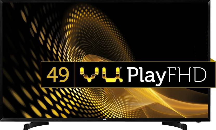 Vu 124cm (49 inch) Full HD LED TV  (49D6575) for ₹29999 at Flipkart