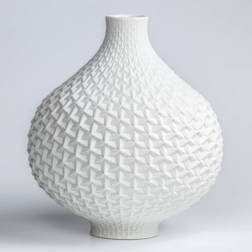 Brittledesign Origami Vase With Intricate Pattern