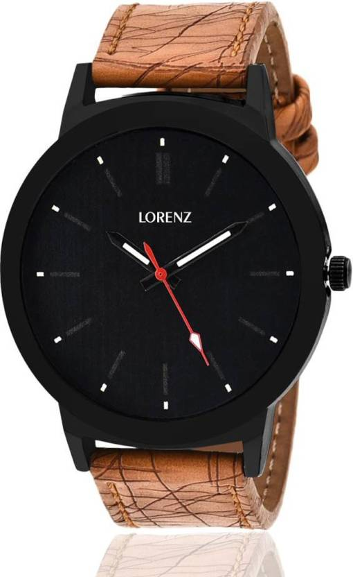 cc5b9ad96695 Lorenz MK-1061A Black Big Dial Watch - For Men - Buy Lorenz MK-1061A Black  Big Dial Watch - For Men MK-1061A Online at Best Prices in India
