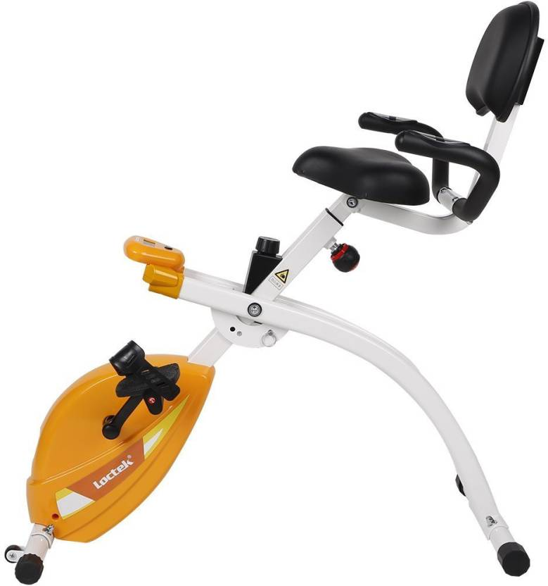 Rife Loctek U1 Under Desk Bike Upright Stationary Foldable Exercise Spinner