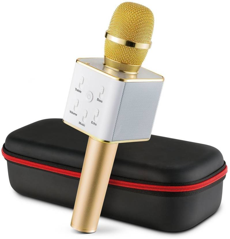 Padraig Wireless Microphone With Bluetooth Speaker For All IOS/Android Smartphones Microphone - Padraig : Flipkart.com