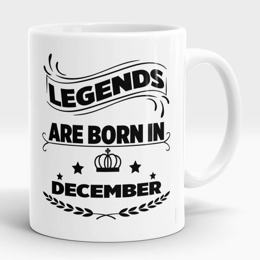 LASTWAVE Legends are Born in December| Birthday Gift for Him Men