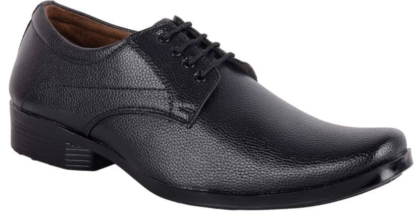 32c142fcd51b ASF SHOE Black shoes formal mens and boys Lace Up For Men