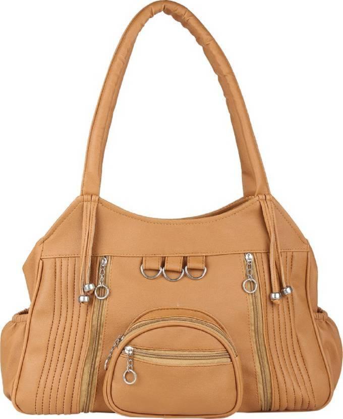 3a9eb25c76 Buy REYAZ   JAIBUN Shoulder Bag BEIGE  CAMEL Online   Best Price in ...