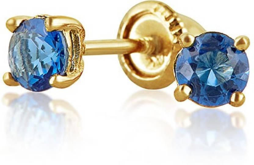 8de5d588fda96 Flipkart.com - Buy Bling Jewelry Simulated Sapphire CZ Baby ...