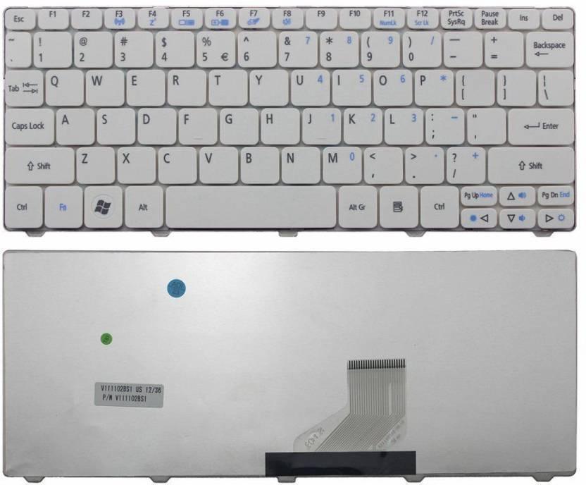 Compatible Acer Aspire One 521 522 532 532H 533 AO521 AO533 D255 D255E D257 D260 D270 NAV50 HAPPY2 Laptop Keyboard Laptop Keyboard Replacement Key Price in ...