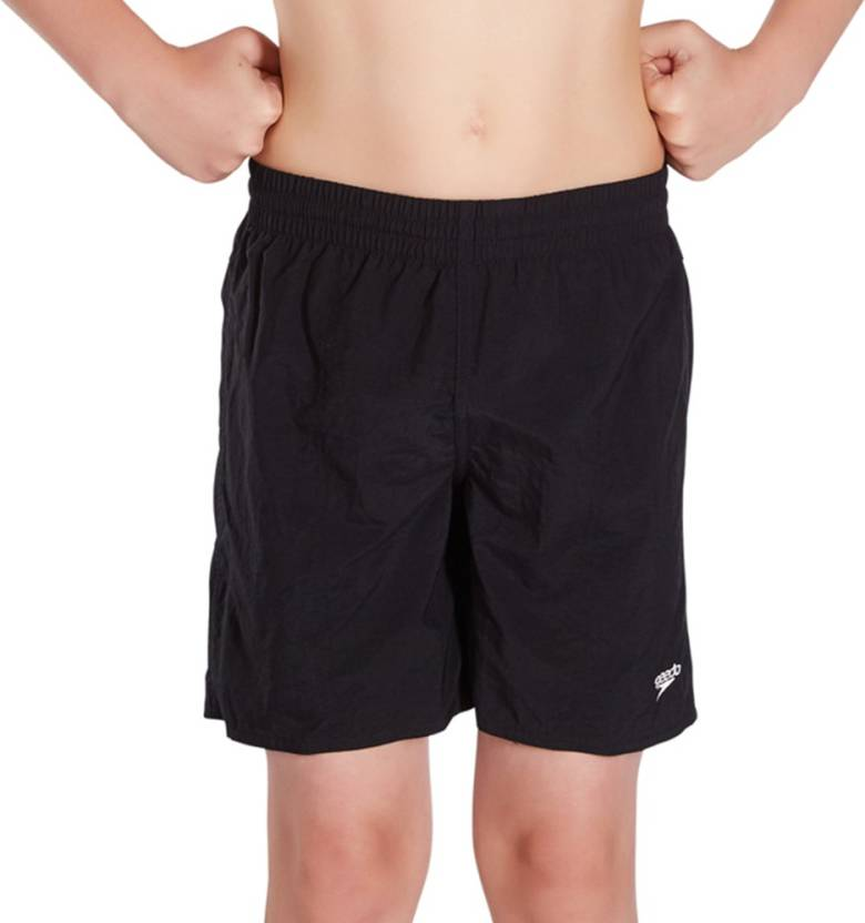 a6e809d7c6 Speedo Short For Boy's Beach Wear Solid Nylon Price in India - Buy ...