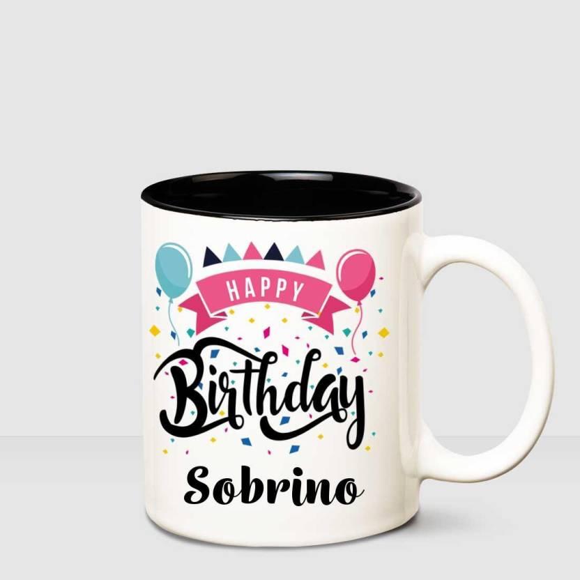 Huppme Happy Birthday Sobrino Inner Black Printed Personalized