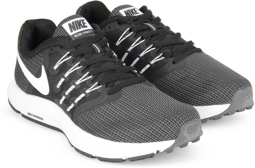 e3c5c6ad530845 Nike WMNS NIKE RUN SWIFT Running Shoes For Women - Buy BLACK WHITE ...