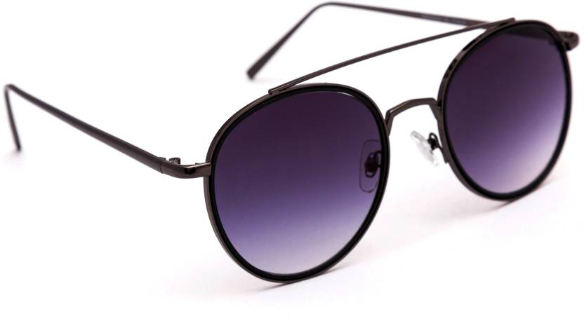 e74ae62763e Buy TheWhoop Round Sunglasses Black