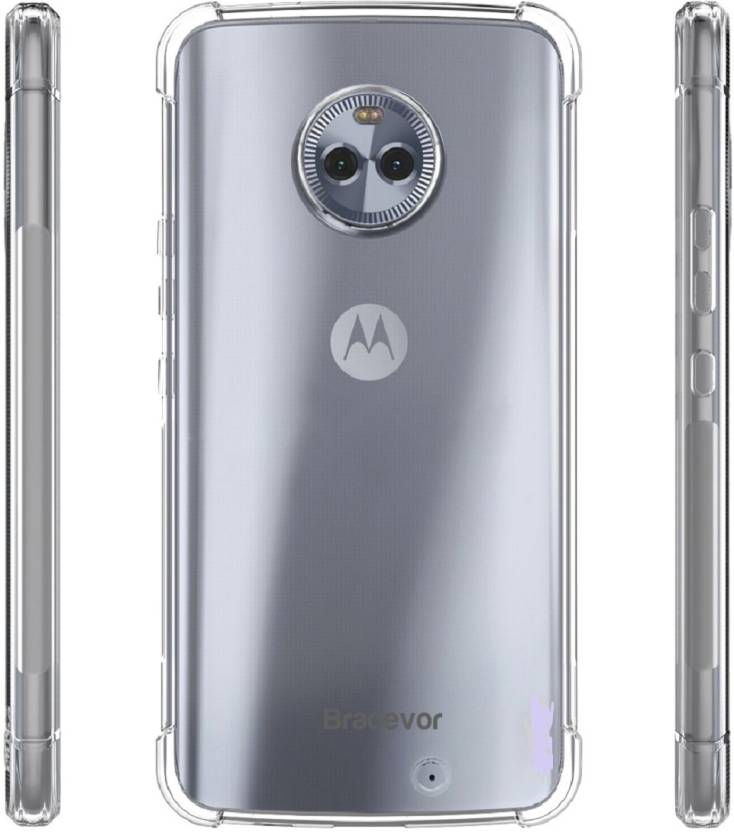 sale retailer b51fc 2efce Bracevor Back Cover for Motorola Moto X4