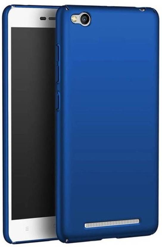 "STUDOZ Back Cover for Studoz Ipaky 4 cut All Sides Protection ""360 Degree"" Sleek Rubberised Matte Hard Case Back Cover For Xiaomi Redmi 4A Blue (Blue, ..."