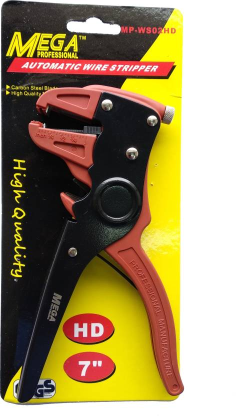 Mega MP-WS02HD WIRE STRIPPER Needle Nose Plier (Length : 16 inch)