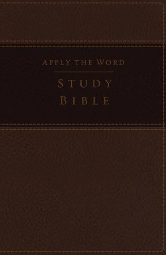 NKJV, Apply the Word Study Bible, Large Print, Imitation