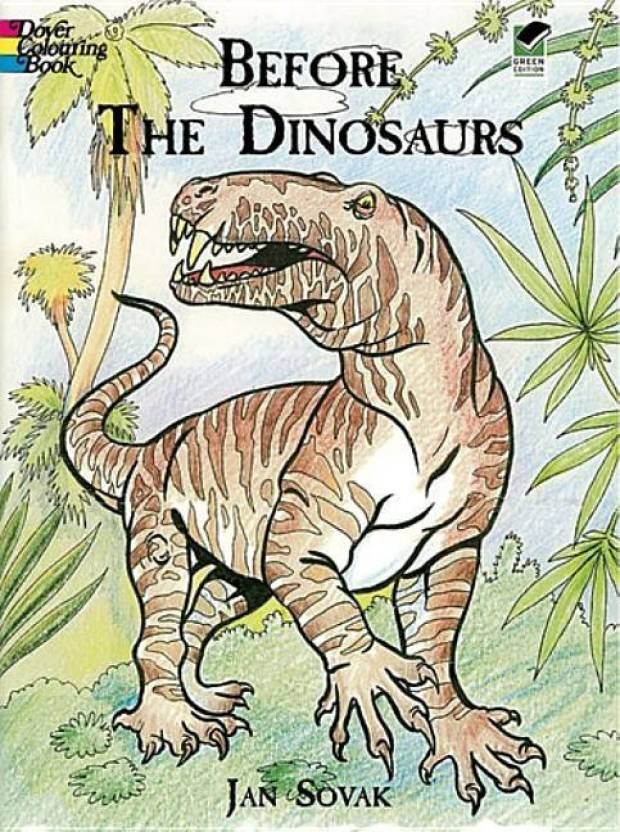 Before the Dinosaurs (Dover Nature Coloring Book): Buy ...