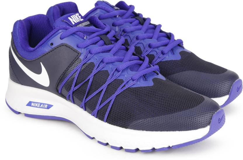 c408290e72 Nike AIR RELENTLESS 6 MSL Running Shoes For Men - Buy BLACK AND BLUE ...