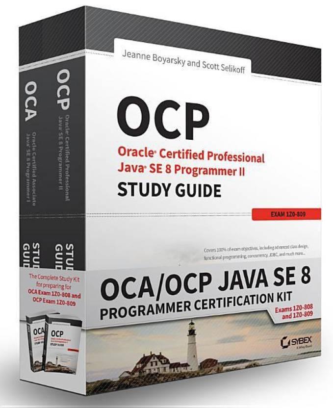 OCA/OCP Java SE 8 Programmer Certification Kit - Buy OCA/OCP Java SE ...