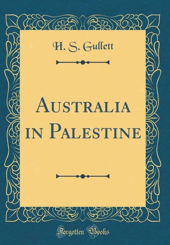Australia in Palestine (Classic Reprint) - Buy Australia in